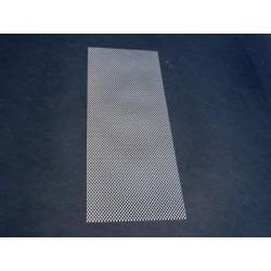 Rete per fondo arnia 6 favi antivarroa rifilata 228x410 mm