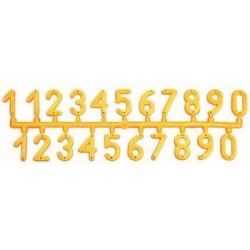 NUMERI IN PLASTICA (serie di 21 cifre)