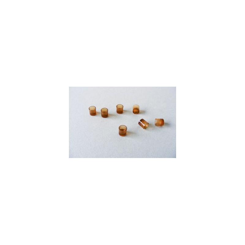 CUPOLINI IN PLASTICA (confezione di 100 pezzi)