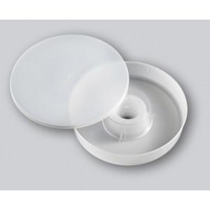 NUTRITORE rotondo in plastica 1,8 lt.