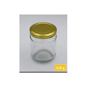 Vasetto in vetro per 250 gr. di miele