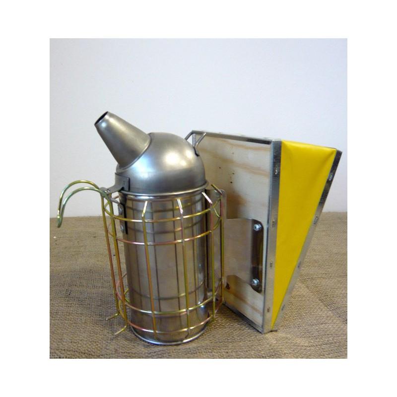 Affumicatore in acciaio  inox con protezione cm.8