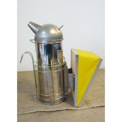 """Affumicatore """"America""""in acciaio inox cm.30 alto cm.30 con protezione"""