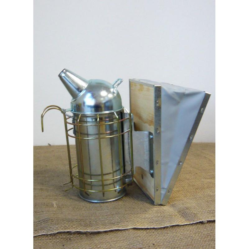 Affumicatore in lamiera zincata con protezione cm.8