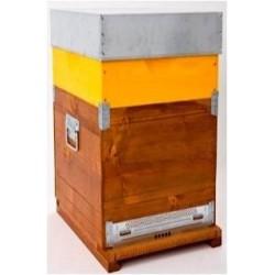 Arnia cubo 7F completa di melario e telaini nido e melario armati