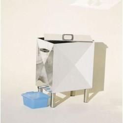 SCERATRICE INOX A VAPORE vapor 15 senza fornello