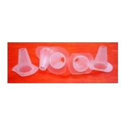 Coni plastica sfucatori trasparenti