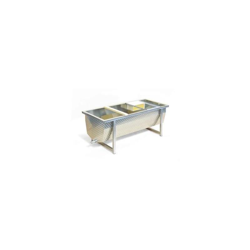 BANCO PER DISOPERCOLARE INOX (200X75X64)